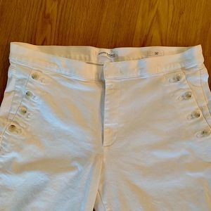 Banana Republic Jeans - Banana Republic White Sailor Jeans—Missing a Hook